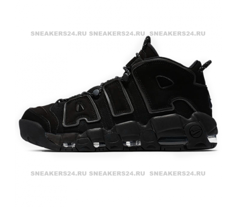Кроссовки Nike Air More Uptempo All Black