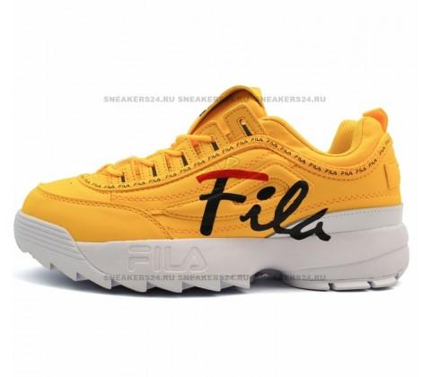 Кроссовки Fila Disruptor 2 Logo Yellow