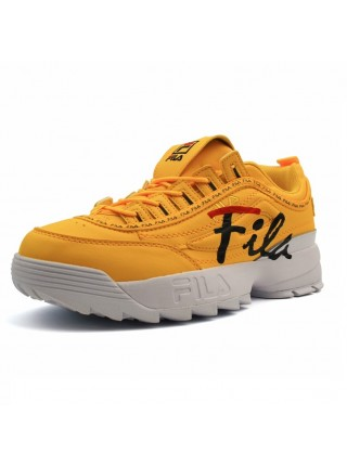 Кроссовки Fila Disruptor 2 Logo Yellow