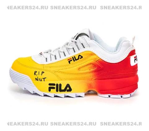 Кроссовки Fila Disruptor 2 Yellow/Red