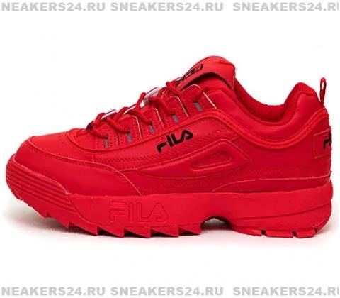 Кроссовки Fila Disruptor 2 All RED