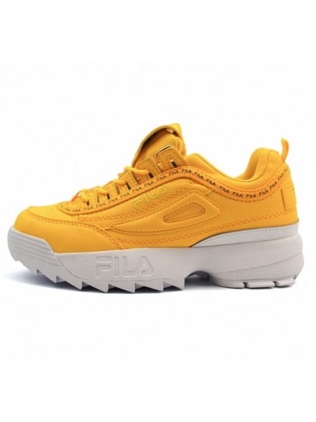 Кроссовки Fila Disruptor 2 Yellow/White
