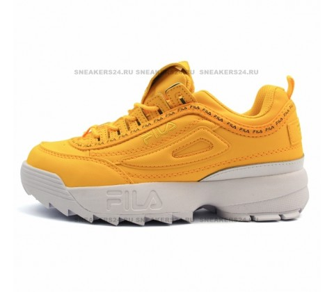 Кроссовки Fila Disruptor 2 Yellow/White