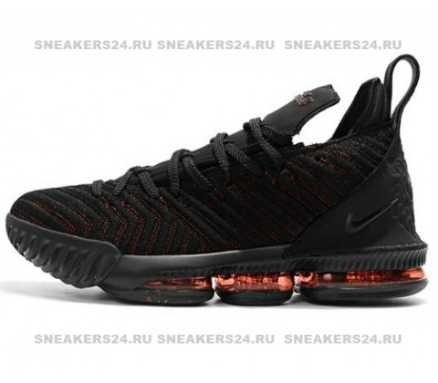 Nike LeBron 16 Black Red