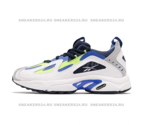 Reebok DMX 1200(White/Blue/Yellow)
