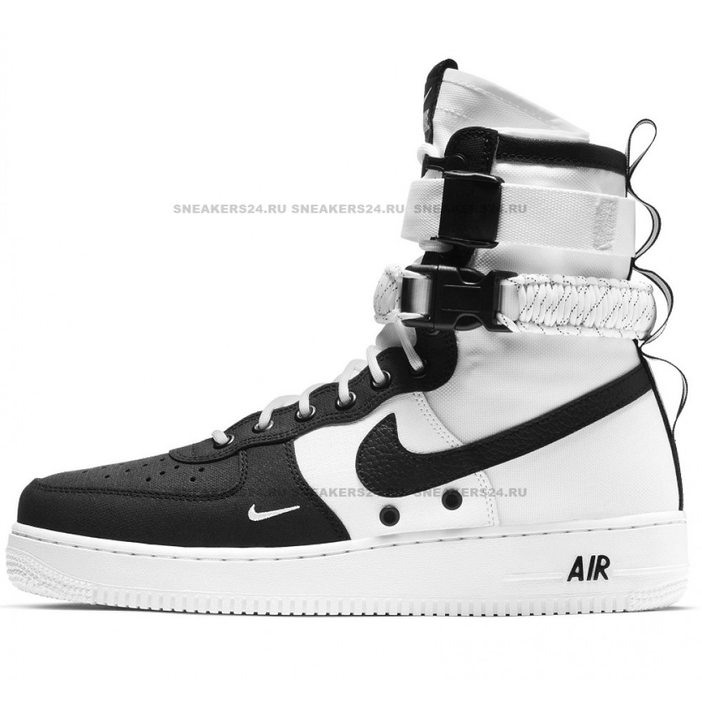 51041685 Кроссовки Nike SF-Air Force 1 Black White - купить в Москве