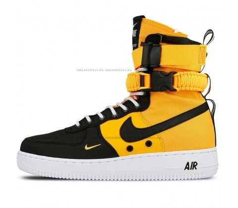 Nike SF-Air Force 1 Orange Black