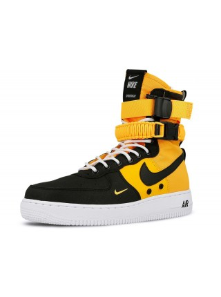 Кроссовки Nike SF-Air Force 1 Orange Black