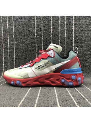 Кроссовки Nike React Element 87 Red Green