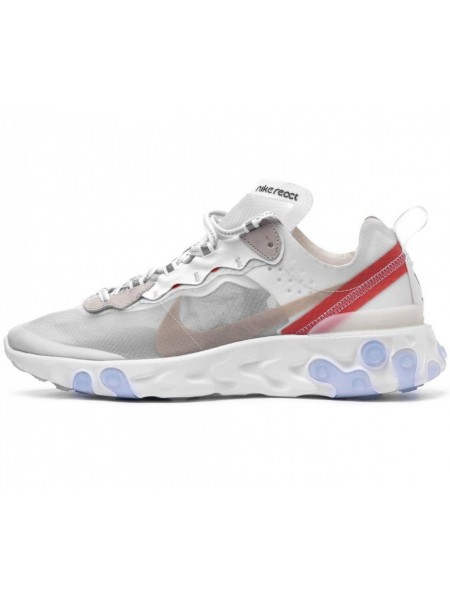 Кроссовки Nike React Element 87 White
