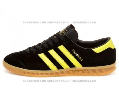 Adidas Hamburg Oslo Black Lemon Peel & Gum