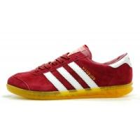 "Кроссовки Adidas Hamburg ""Red Yellow"""