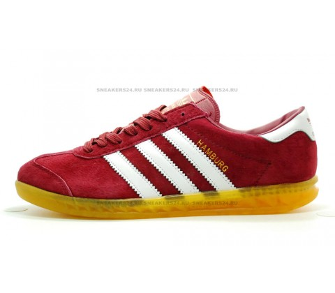 "Кроссовки Adidas Hamburg ""Red Yellow"""