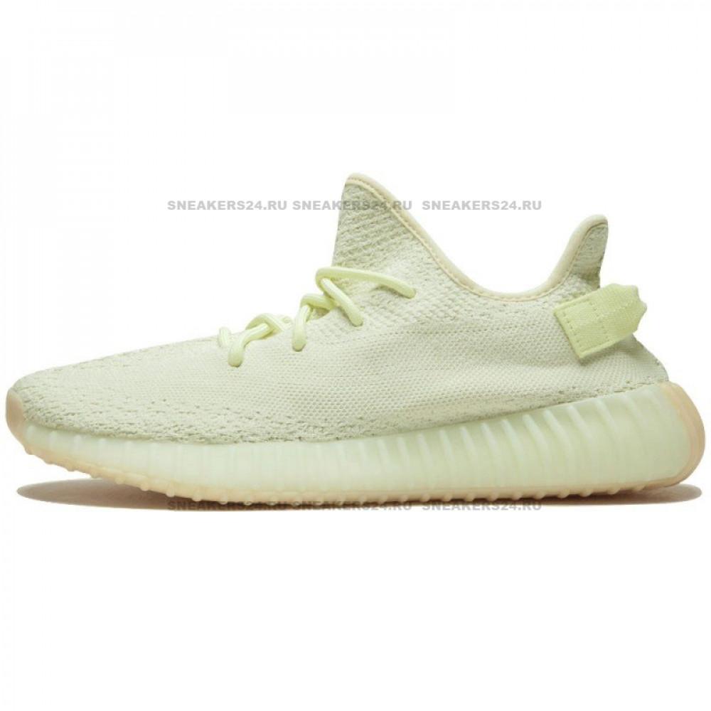 """online store 281a7 9ee33 Adidas Yeezy Boost 350 V2 Light Green """"BUTTER"""""""
