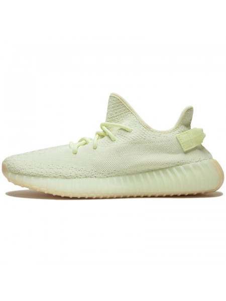 "Adidas Yeezy Boost 350 V2 Light Green ""BUTTER"""