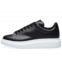 Alexander Mcqueen Leather (Black/White)