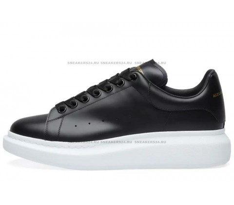 Alexander Mcqueen Leather (Black/White)