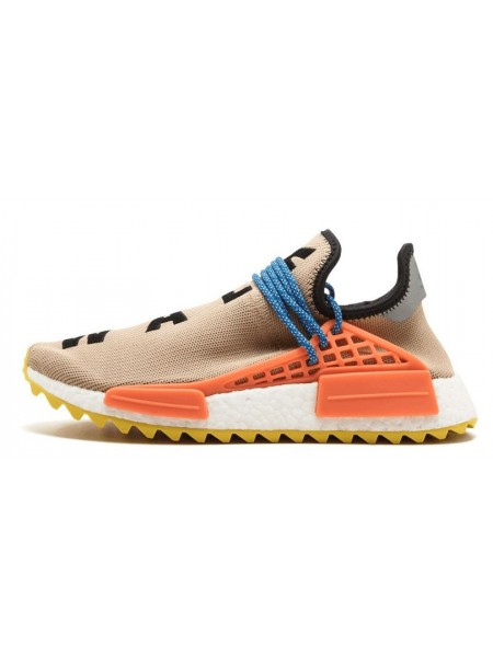 Pharrell x Adidas NMD Trail Human Race (Nude/Core Black/Yellow)