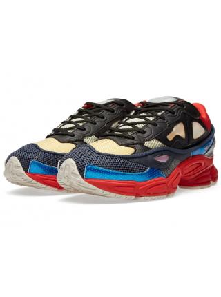Adidas x Raf Simons Ozweego 2 (Black Red & Pearl Grey)