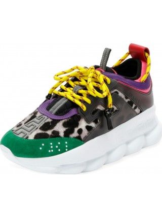 Versace Colorblock Chain Reaction