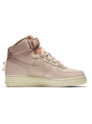 NIKE AIR FORCE 1 HIGH UTILITY BEIGE/LIGHT CREAM