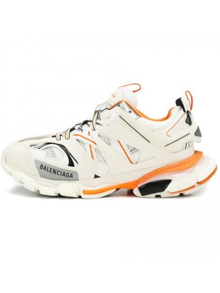 Balenciaga Track Trainers (White/Orange)