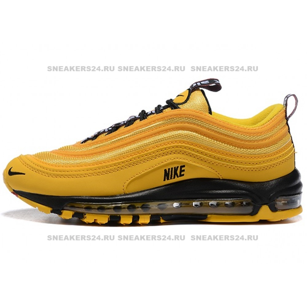 quality design 3c058 d9ea6 КРОССОВКИ NIKE AIR MAX 97 OVERBRANDING TAXI YELLOW