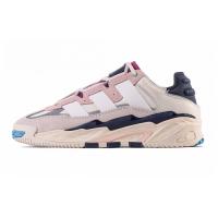 Кроссовки Adidas Niteball BEIGE NOIR white and pink