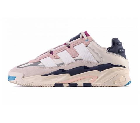 Кроссовки Кроссовки Adidas Niteball BEIGE NOIR белые, розовые