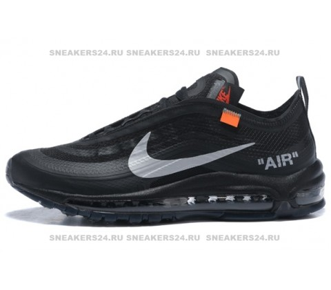Кроссовки Nike Air Max 97 OG x Off White Black