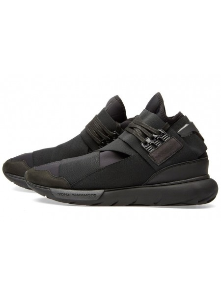 Adidas Y-3 Qasa Racer High (Triple Black)