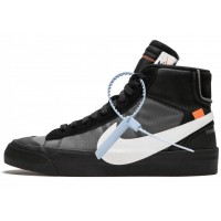 "Off White x Nike Blazer Mid ""Spooky"" (Black)"