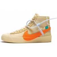 "Off White x Nike Blazer Mid ""Spooky"" / Orange"
