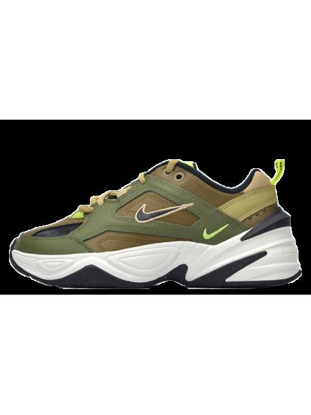 Nike M2K Tekno (Olive/Black/Yukon Brown)
