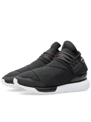 Adidas Y-3 Qasa High (Black/White)