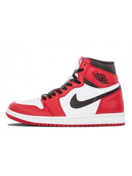 Air Jordan 1 Retro (White/Varsity Red/Black)