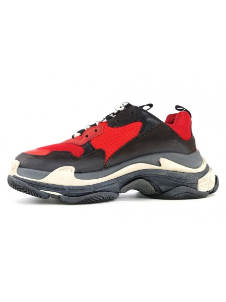Balenciaga Triple S Red Black / 36-45