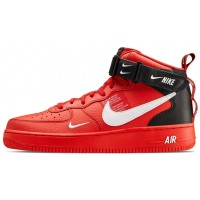 Nike Air Force 1 LV8 Utility Mid (Red/Black)