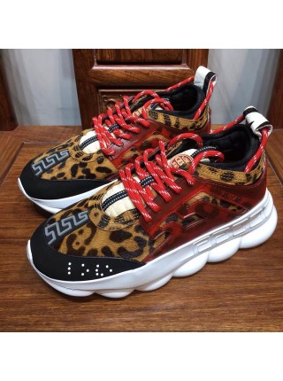 VERSACE CHAIN REACTION RED LEOPARD
