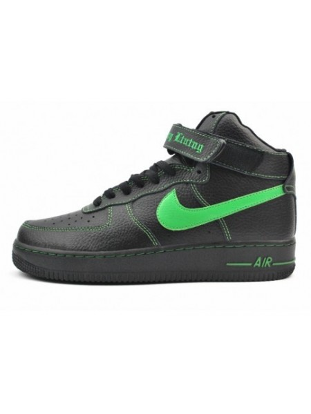 Nike Air Force 1 High Vlone Green Black Lucky