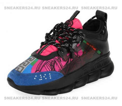 "Versace Chain Reaction  ""Black/Multicolor"""