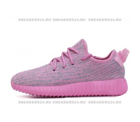 Кроссовки Adidas Originals Yeezy 350 Boost Pink/Grey