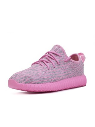 Кроссовки Adidas Originals Yeezy 350 Boost Pink/Grey
