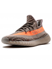 Кроссовки Adidas Originals Yeezy Boost Sply 350 V2 Stealth Grey/Beluga/Solar Red