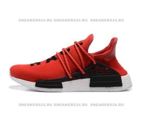 Кроссовки Pharrell Williams x Adidas NMD Human Race Red