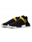Кроссовки Adidas NMD Human Race Black/White/Yellow
