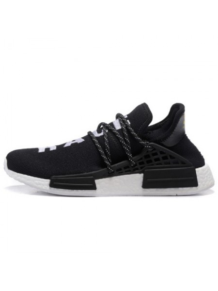 Кроссовки Pharrell Williams x Adidas NMD Human Race Black
