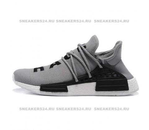 Кроссовки Pharrell Williams x Adidas NMD Human Race Grey