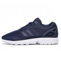 Кроссовки Adidas ZX Flux Grey Blue/White