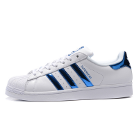 Кроссовки Adidas SuperStar White/Hologram Blue